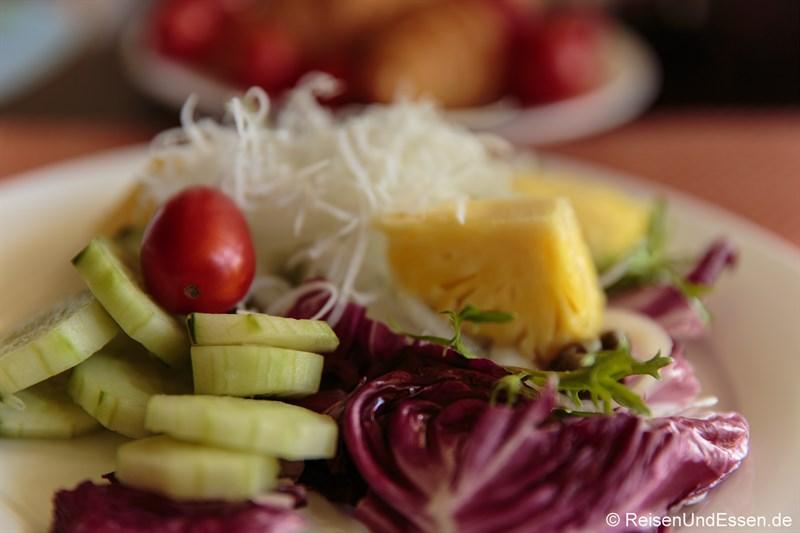 Salat zum Frühstück