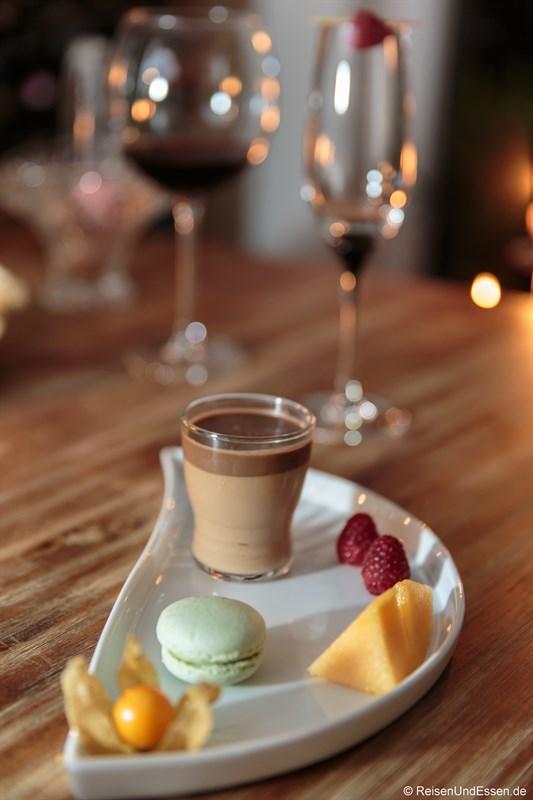 Dessert mit Schokoladenmousse