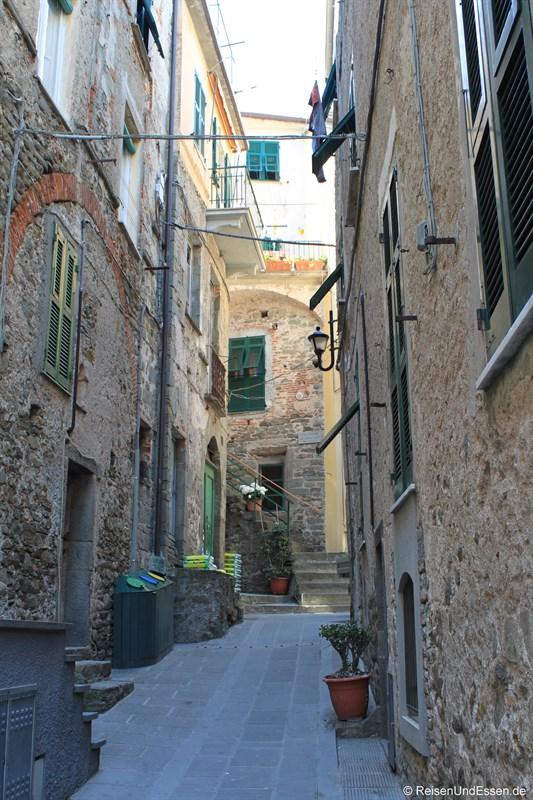 Gasse in Corniglia