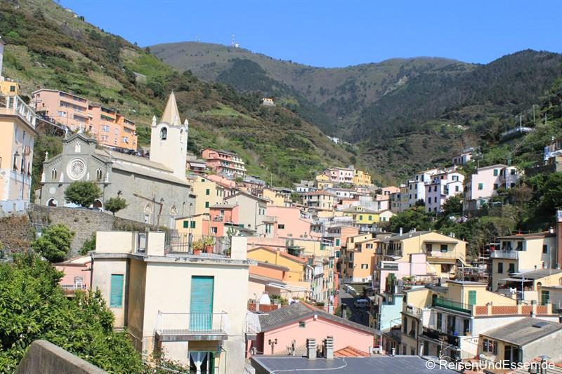 Blick auf Riomaggiore