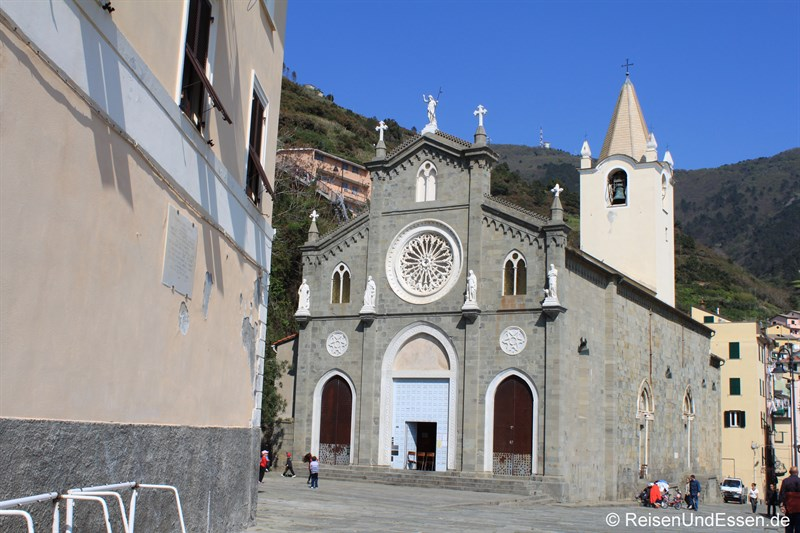 Kirche in Riomaggiore