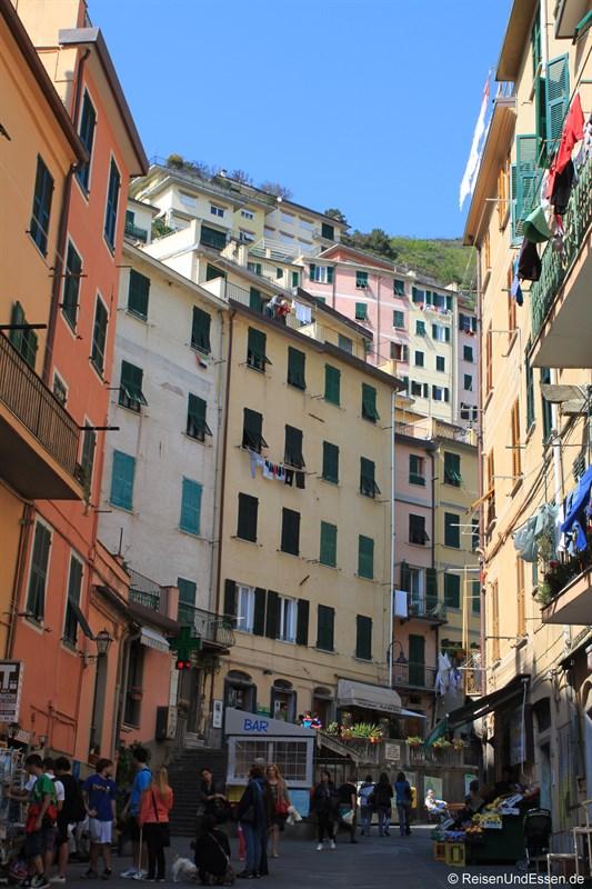 Gasse in Riomaggiore