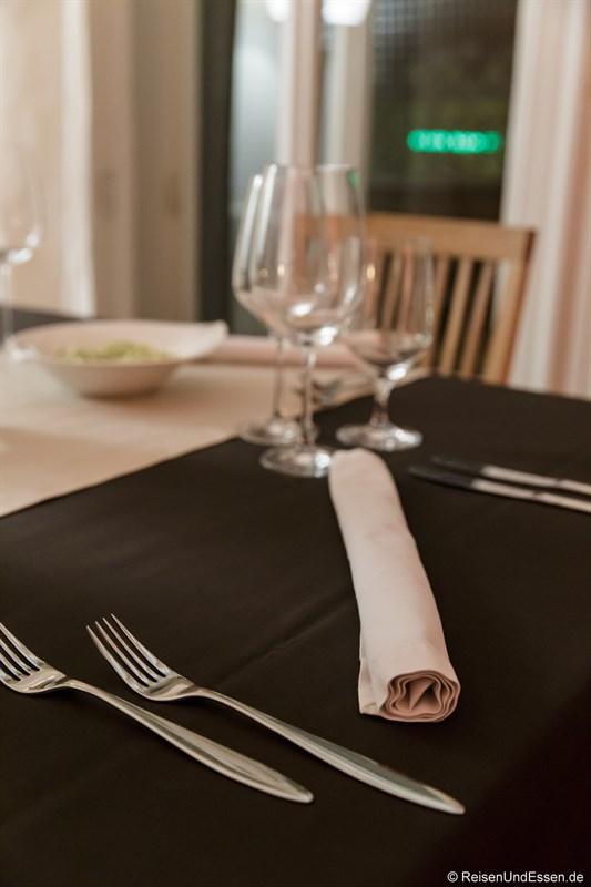 Tischset für die Kulinarik aus Ligurien