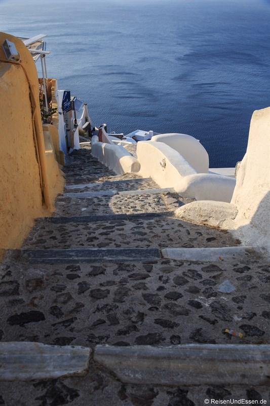 Stufen zur Bucht von Armeni