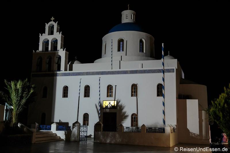 Kuppelkirche bei Nacht