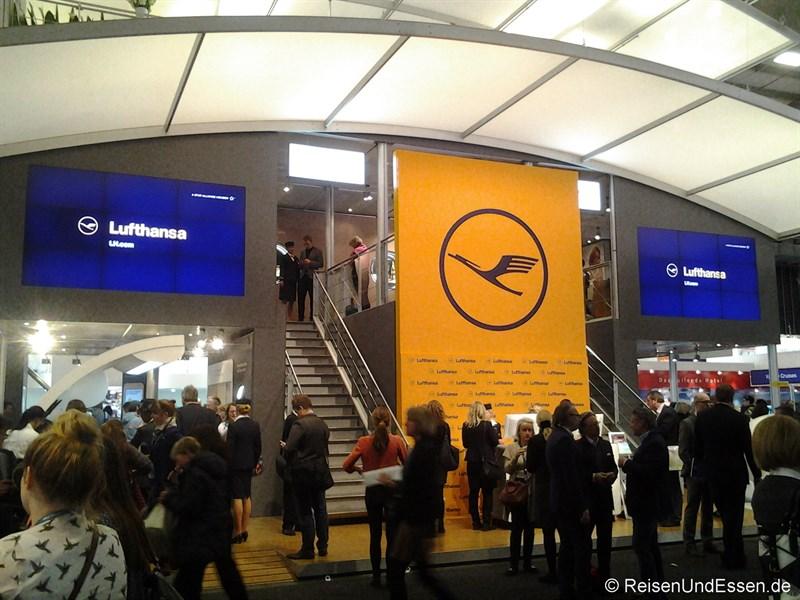 Lufthansa auf der ITB