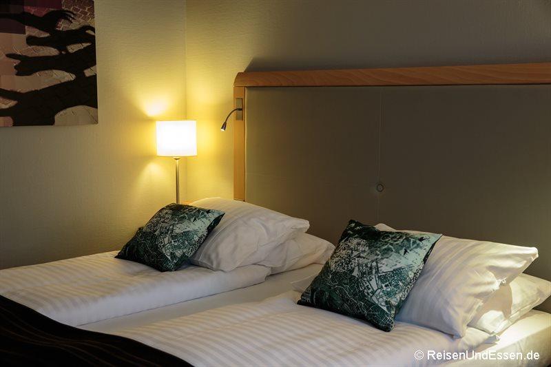 Zimmer im Radisson Blu Bremen
