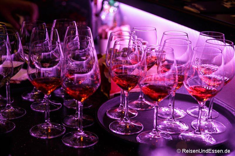 Aperol Spritz an der Bar
