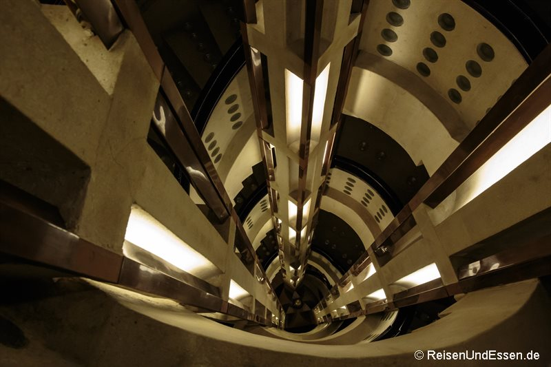 Art Deco Treppenhaus Im Haus Atlantis