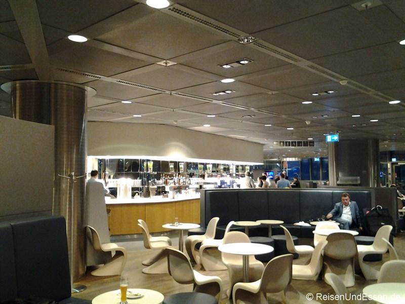 Lufthansa Business Class Lounge in Frankfurt im Gate 1B