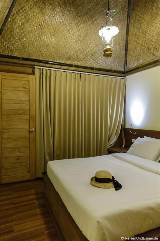 Unser Zimmer im Cempaka Villa