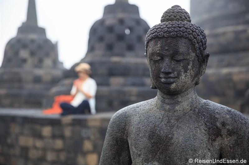 Buddha in Borobudur