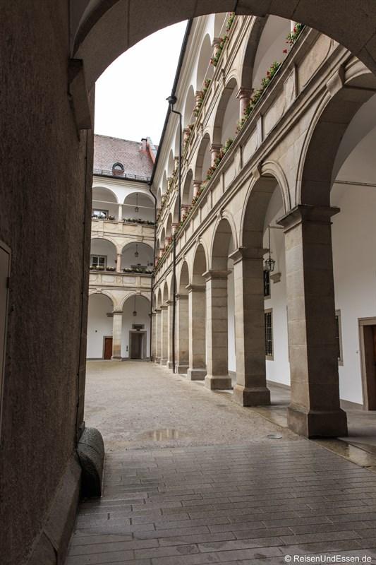 Innenhof vom Linz Landhaus