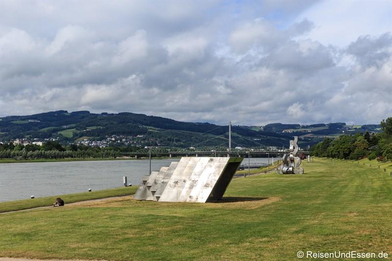 Kunst im Donaupark in Linz