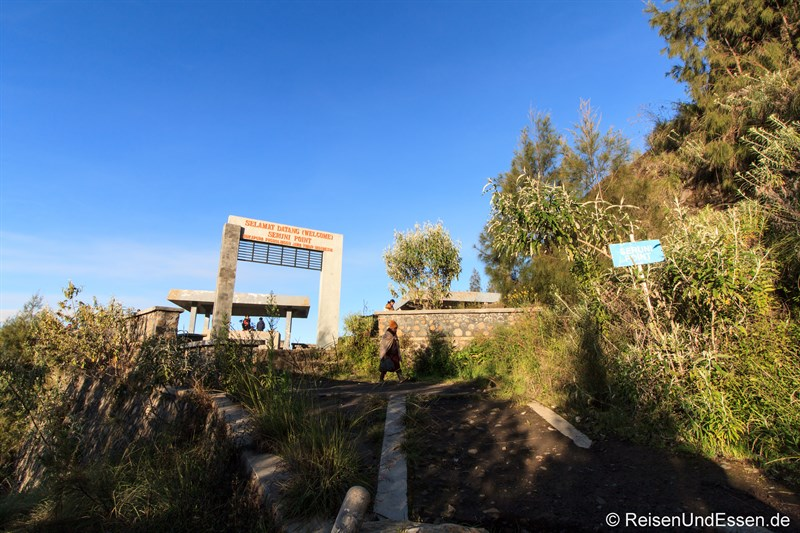 Viewpoint für Erlebnis Bromo zum Sonnenaufgang