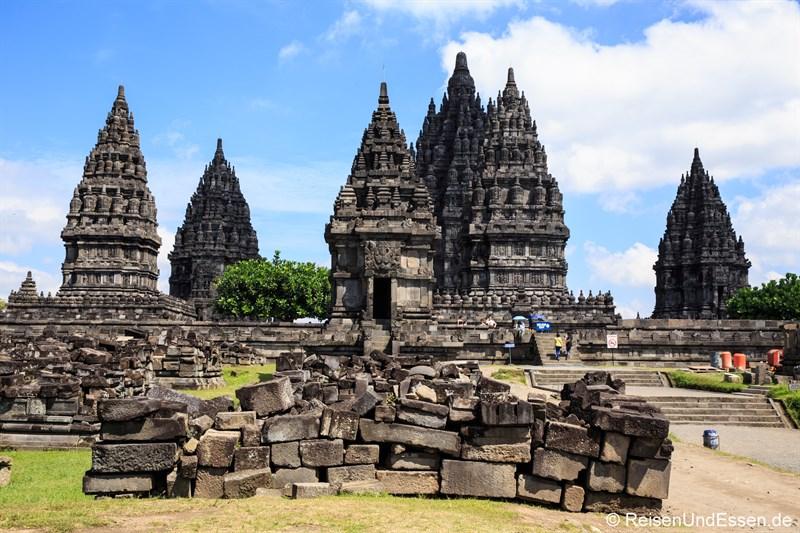 Hauptgruppe der Tempel von Prambanan
