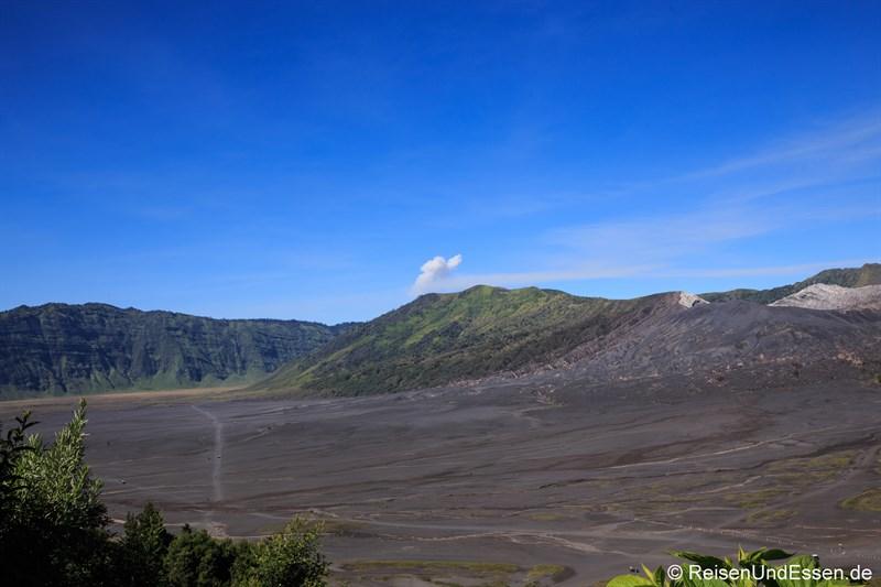 Piste durch das Sandmeer am Bromo Richtung Malang