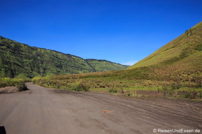 Piste durch den Bromo-Tengger-Semeru-Nationalpark