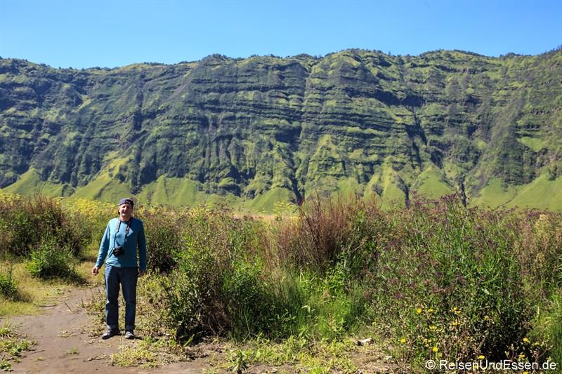 Stopp im Bromo-Tengger-Semeru-Nationalpark