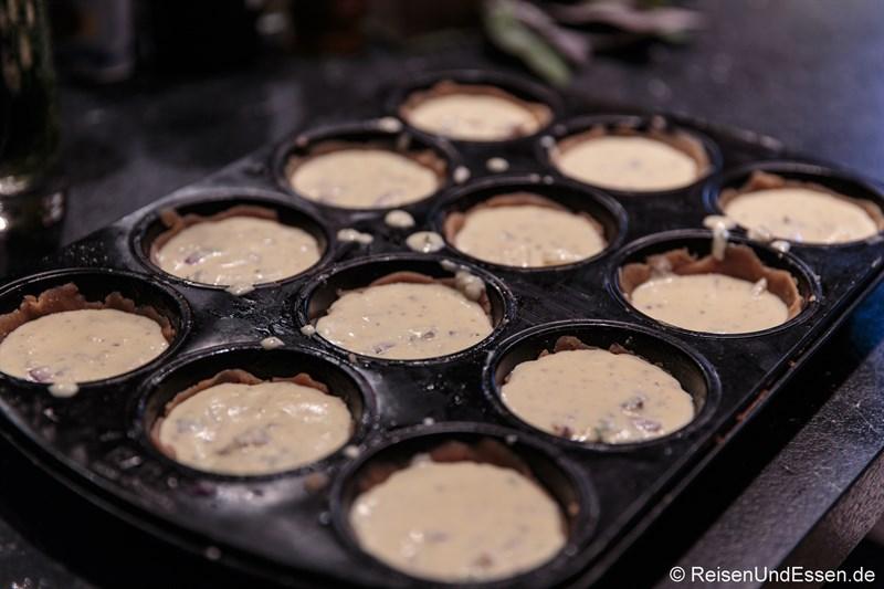 Schafgarben-Küchlein im Muffinsblech