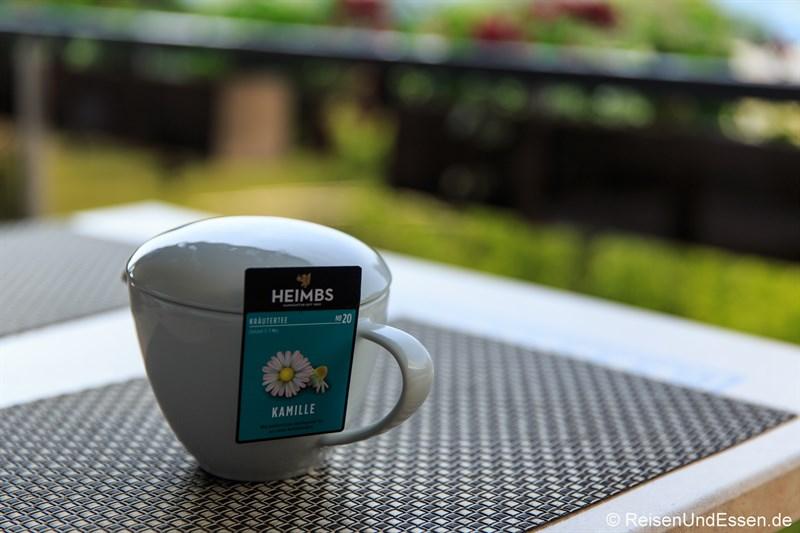 Tee zum Frühstück