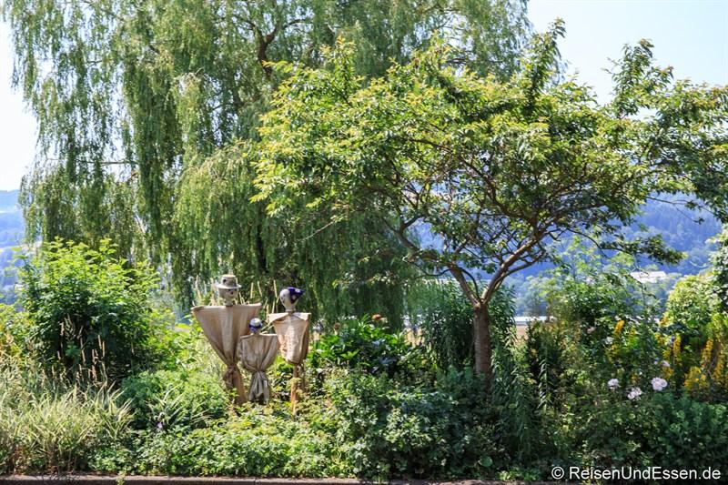 Kräutergarten in der Struthof Brennerei