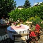 Romantischer Garten