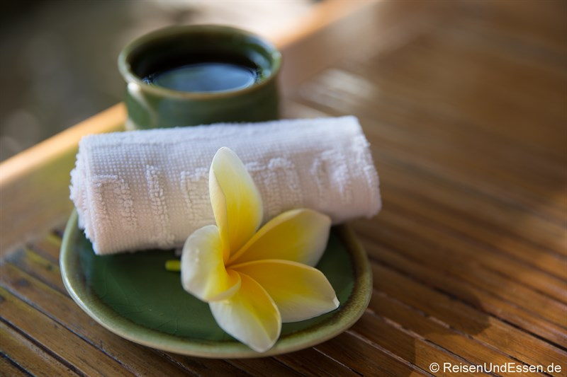 Tee in den Spa Villa Retreats