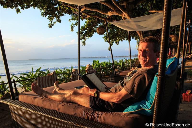 Relaxen in der Sunset Beach Bar