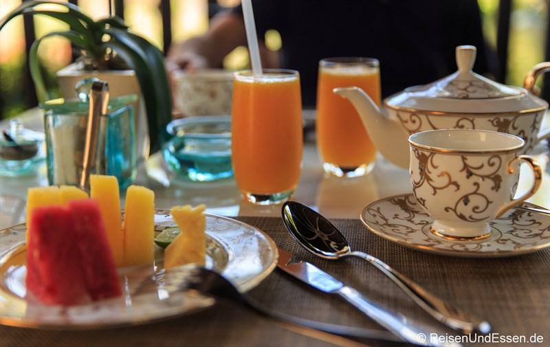 Frühstück in der Club InterContinental Lounge