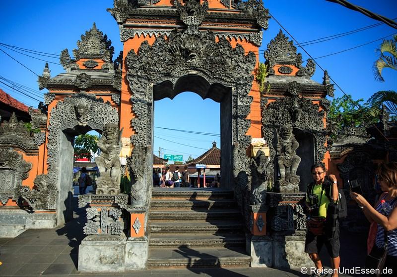 Eingang Richtung Tanah Lot