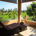 Hotel im Reisfeld in Ubud auf Bali
