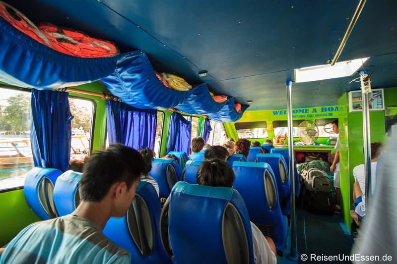 Speedboot von Padang Bai zu den Gili