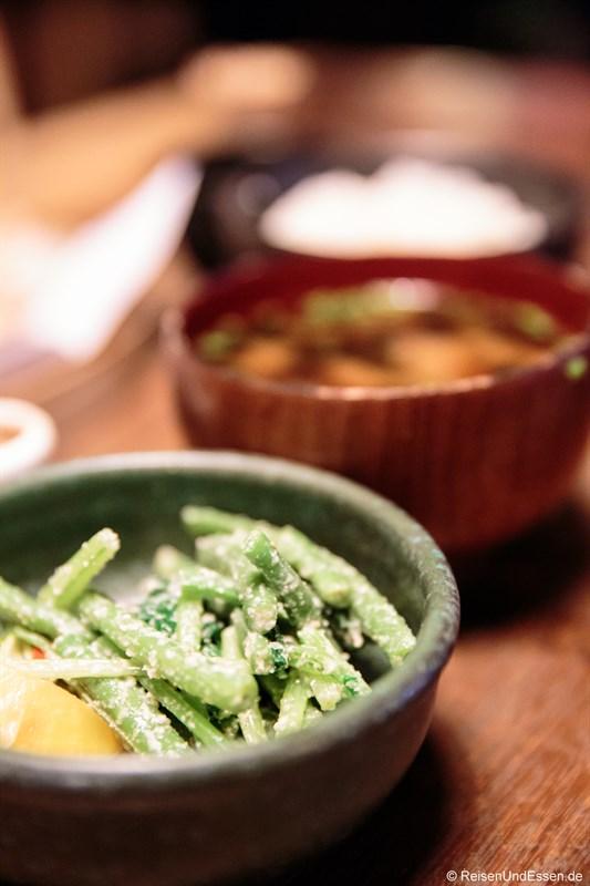Vorspeise im japanischen Restaurant Ryoshi