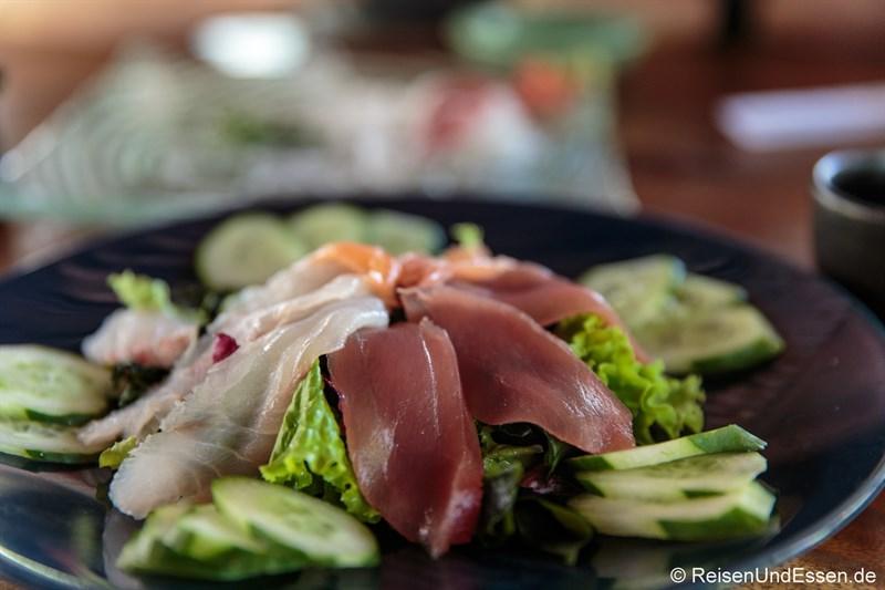 Sushi im japanischen Restaurant Ryoshi