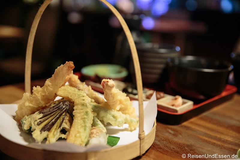 Vegetarisches Tempura