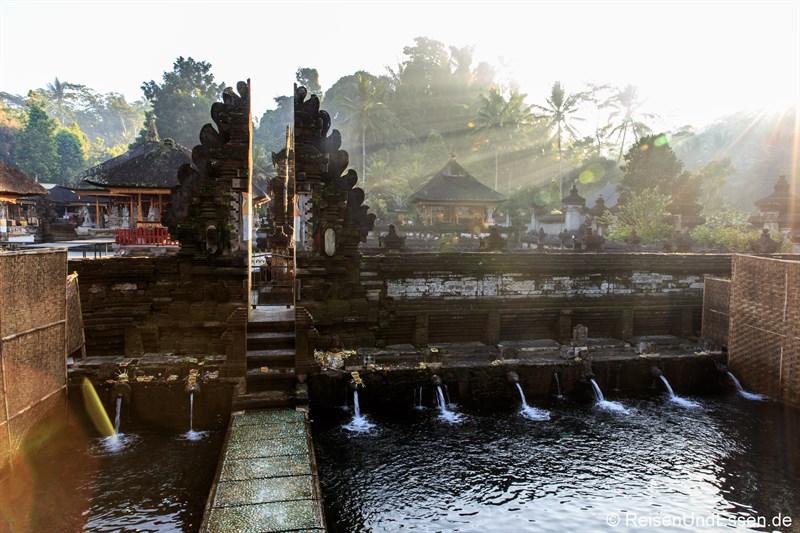 Heiliges Wasser in Pura Tirta Empul