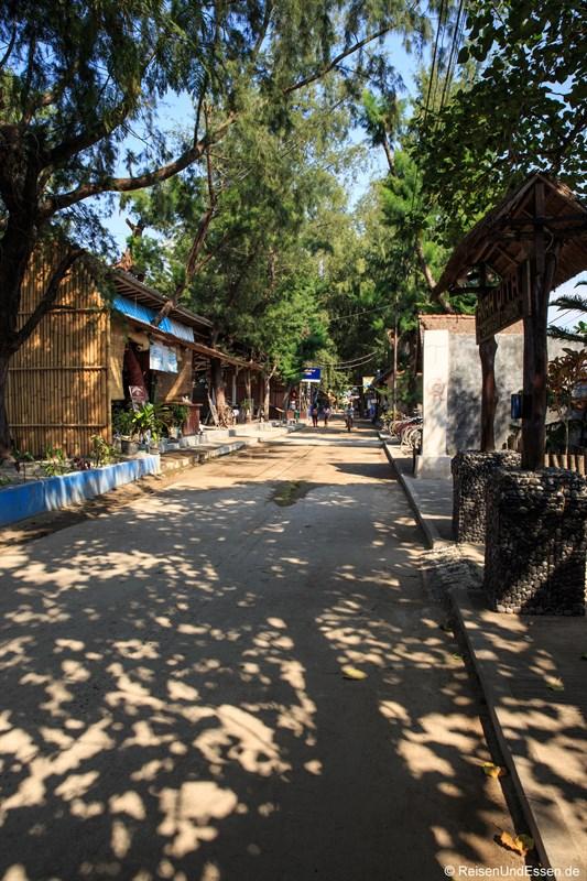 Hauptstrasse von Gili Trawangan