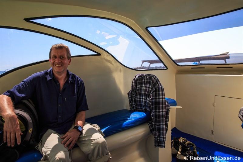 Privates Speedboot nach Lombok