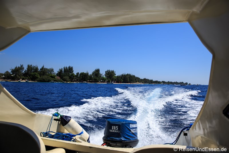 Tipps zu den Gili Inseln - Privates Speedboot nach Lombok