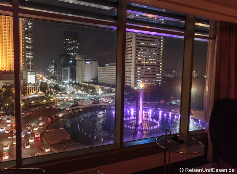 Aussicht aus dem Executive Grand Deluxe Zimmer