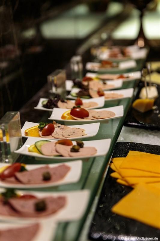 Wurst im Signature Restaurant