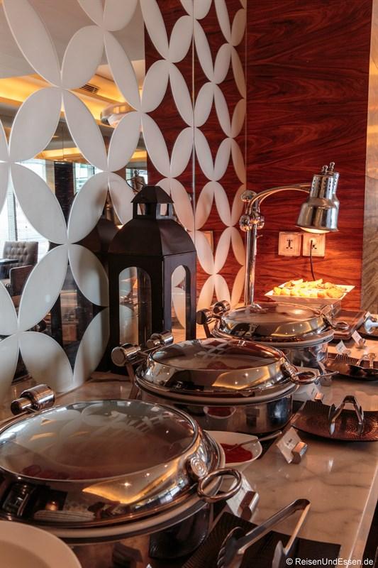 Frühstück in der Ganesha Executive Lounge