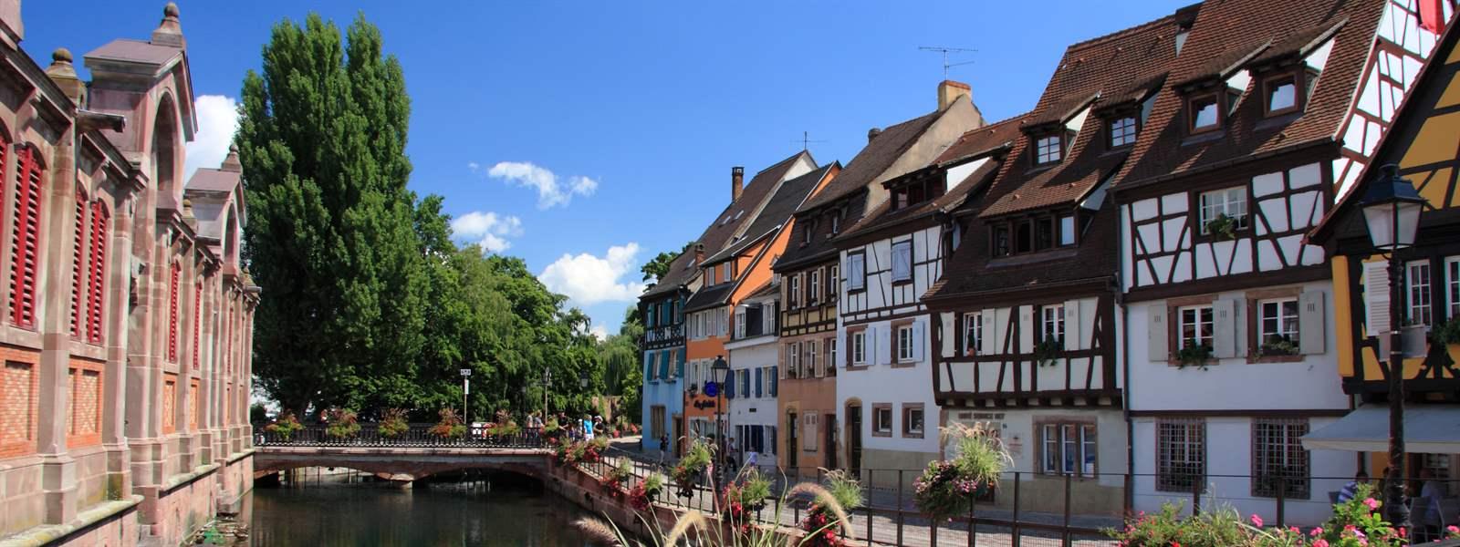 Unterwegs in der Altstadt von Colmar