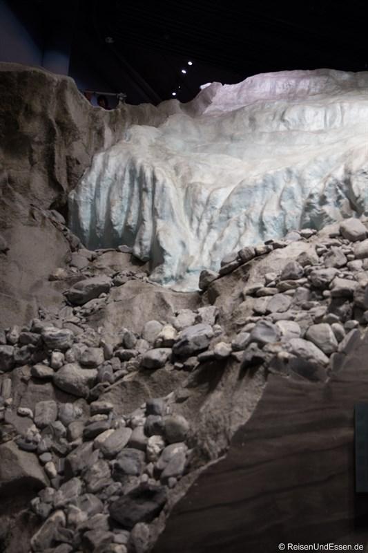 Gletscher im Klimahaus Bremerhaven