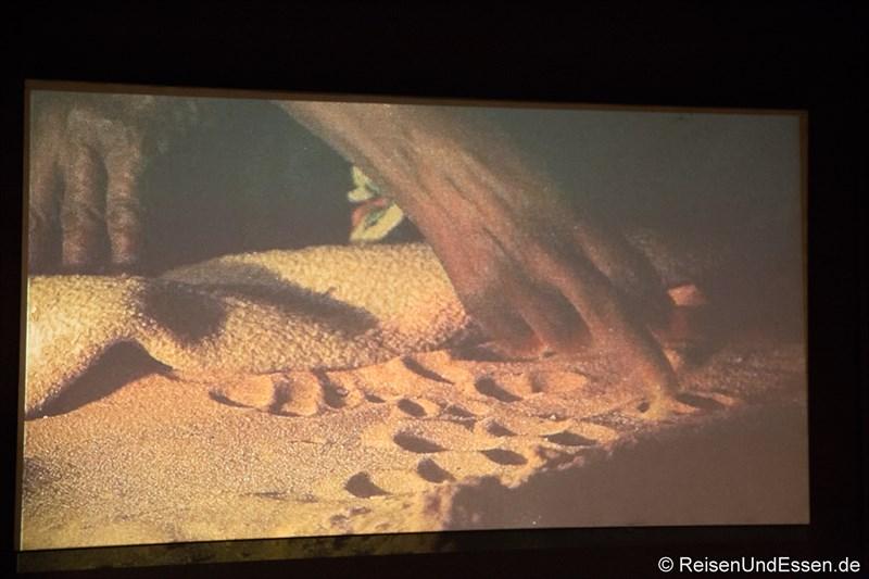 Symbole im Wüstensand