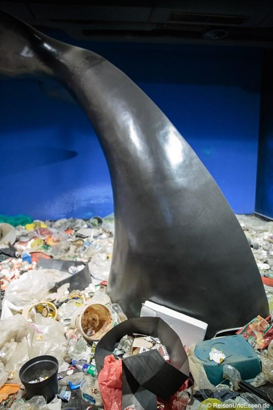 Umweltverschmutzung im Meer durch Plastik