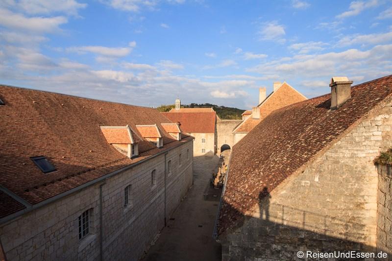 Blick in die Zitadelle von Besancon