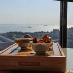 Zimmer mit Meerblick im Hotel Nikko Xiamen