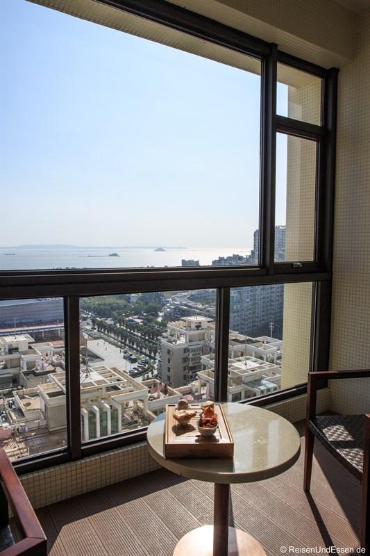 Balkon im Luxus Zimmer